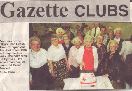 Good Companions Club 49th birthday