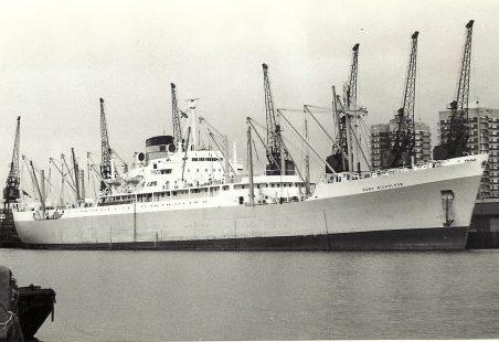 PORT NICHOLSON in dock