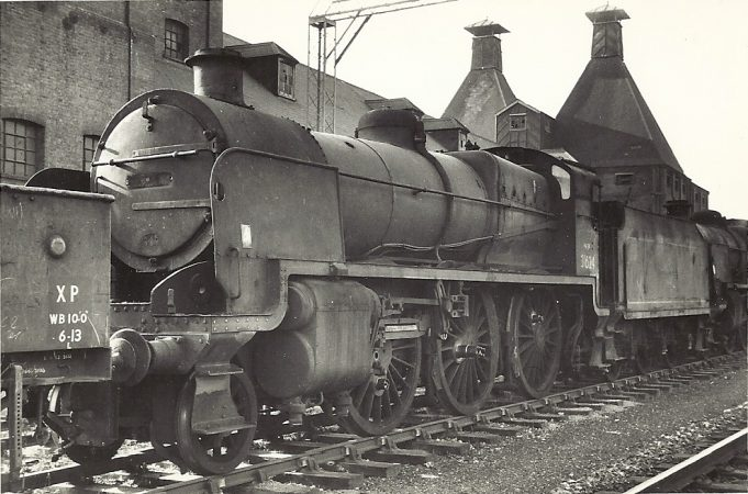 U Class steam locos. | Jack Willis
