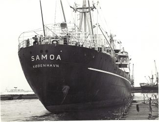 SAMOA entering Tilbury docks | Jack Willis