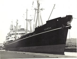 SAMOA of East Asiatic entering Tilbury 1960s | Jack Willis