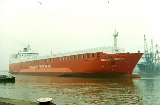 CERDIC FERRY in Tilbury | Jack Willis