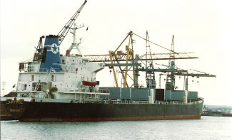 PIRROS on scrap berth | Jack Willis