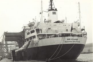 N R CRUMP in Tilbury