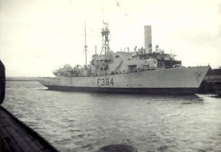 HMS LEEDS CASTLE at Wards