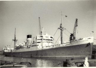 CITY OF CHESTER in Tilbury Docks   from Jack Willis