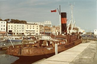 CERVIA in Ramsgate Harbour | Jack Willis
