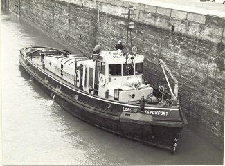 LORD DAVENPORT in Tilbury locks | Jack Willis