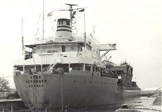 DAVANGER in Tilbury Docks
