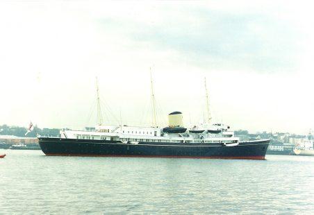 BRITANNIA  on the Thames