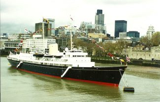 BRITANNIA  on the Thames | Jack Willis