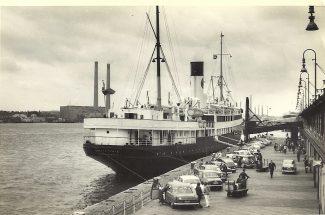 BRITANNIA   loading cars | Jack Willis