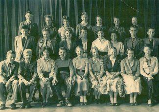 St Chads School 1957-1958