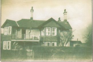 The Station Master's house in 1953 | John Smith