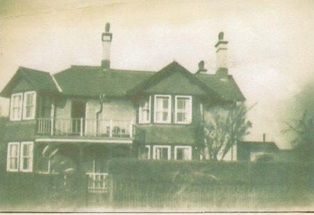 The Tilbury Station Master's house