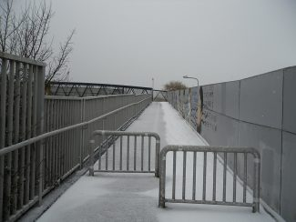 The footbridge today | from John Smith