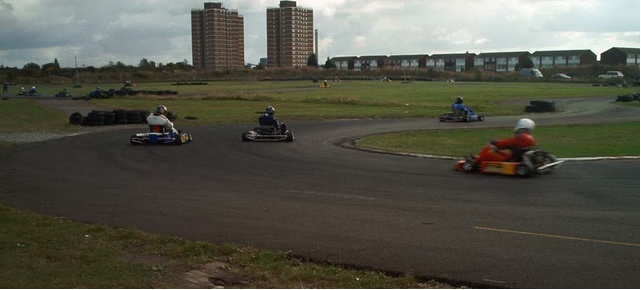 Tilbury Go-Kart track in the 1990s | from John Smith