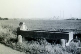 The trough at Biggin Lane in 1967 | Thurrock Museum