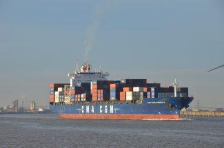 The container ship CMA CGM AMERICA | Jack Willis