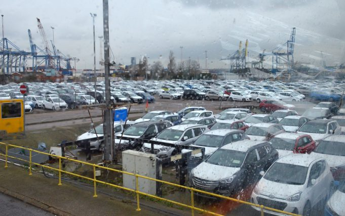 OPEN DAY ON THE CRUISE TERMINAL