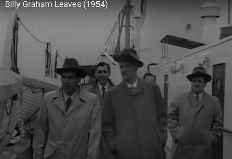 Billy Graham at Tilbury