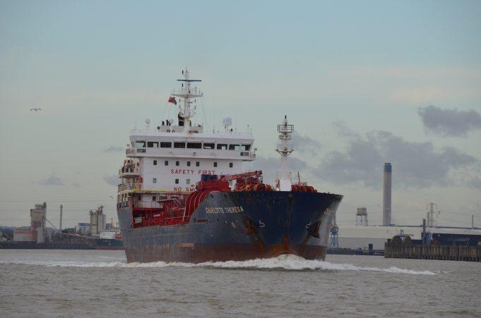 CHARLOTTE THERESA on the Thames