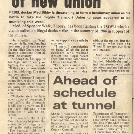 Threat of new union | Bibby Family