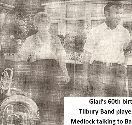 Bandsman - Bandsman - Gladys - Medlock - Richard Fox | Thurrock Gazette - Bibby Family