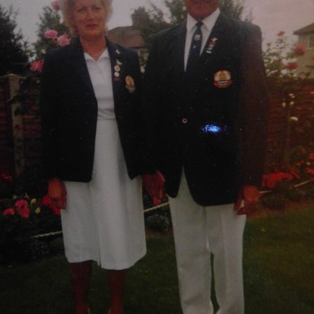 Gladys and Medlock, Stanford United Services Bowls Club   Bibby Family