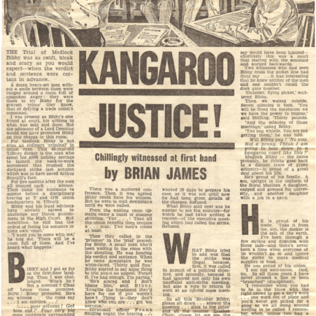 Kangaroo Justice - Medlock on Trial | Daily Mail - Bibby Family