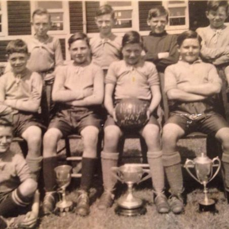 Medlock Bibby - middle row 2nd from left. Can anyone name the other footballers | Bibby family
