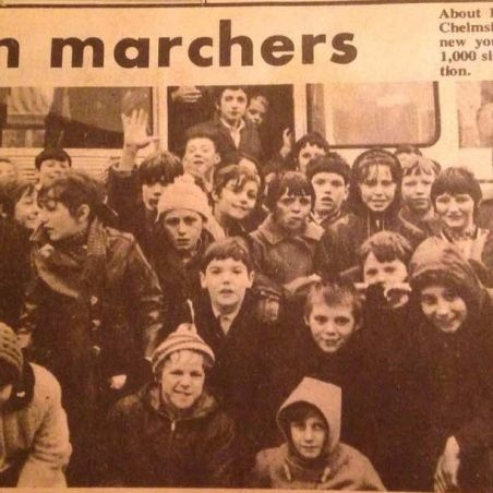 Tilbury youth marchers Chelmsford | Bibby Family