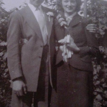 Medlock and Gladys Wedding 1956 | Bibby Family
