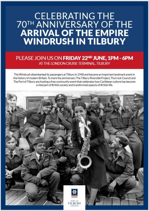 A Windrush Event - 22nd June