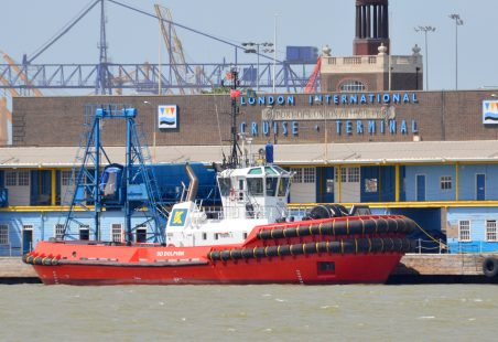 SD DOLPHIN on Tilbury Landing Stage