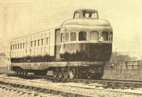 Petrol driven railcar