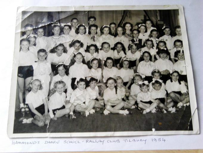 Hammonds Dance School, Railway Club, Calcutta Road