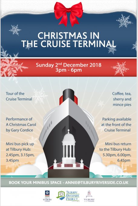 Christmas at the Cruise Terminal