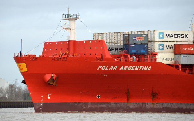 The container ship POLAR ARGENTINA | Jack  Willis