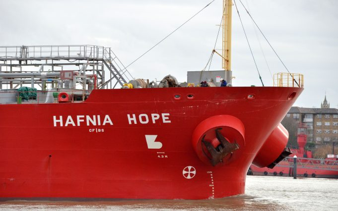 Tanker HAFNIA HOPE | Jack Willis