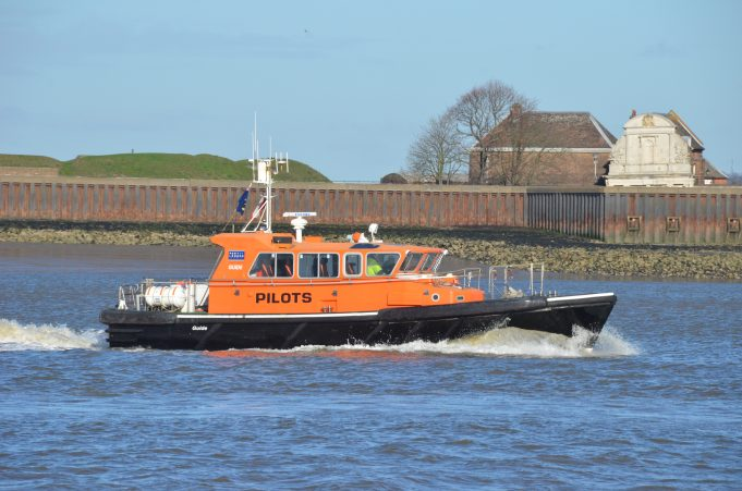 Pilot boat Guide with Tilbury Fort in the background. | Jack Willis