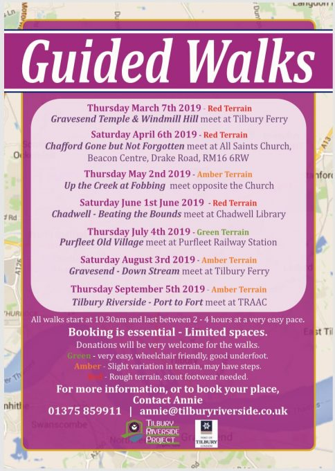 Guided Walks - 2019 Programme