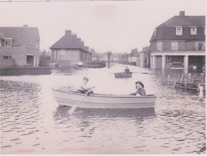 February 1st 1953 - First day of the floods