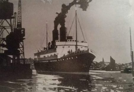 SS Picard leaving Tilbury Riverside for Dunkirk.