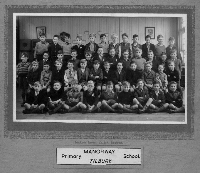 Manorway School 1953
