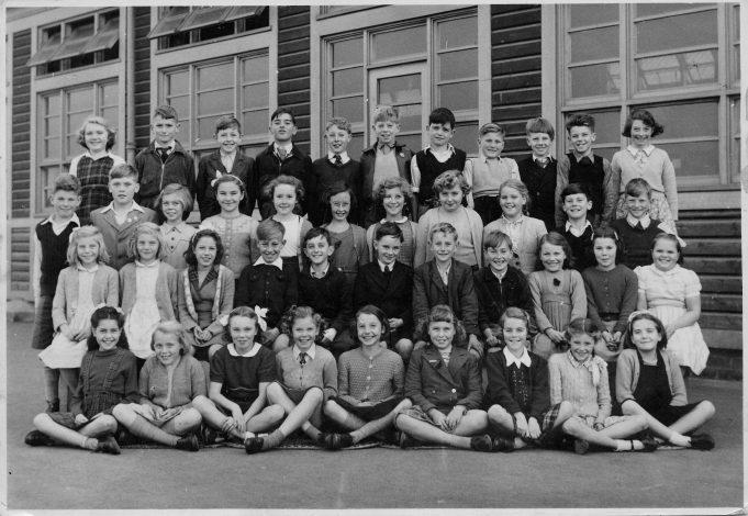 Manorway School 1954