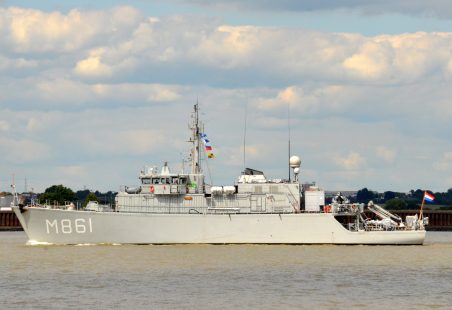 DUTCH WARSHIPS PASSING TILBURY