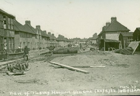 Tilbury Housing Scheme 1922