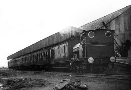 Tilbury Marine Railway Station.