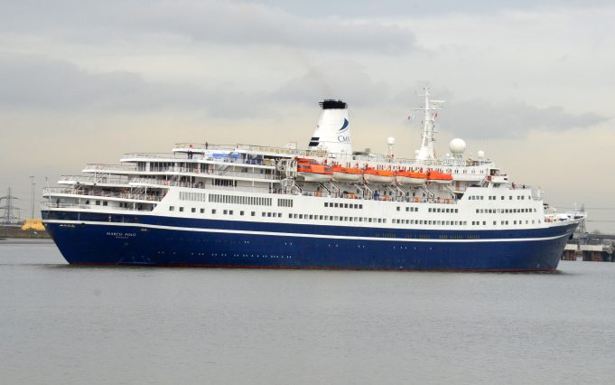 MARCO POLO turning in the river   Jack Willis